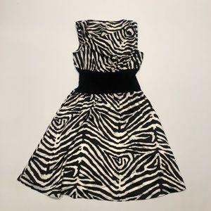 👝 Calvin Klein zebra dress 6